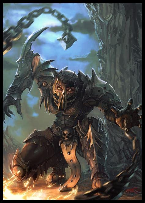 Scorpion Mortal Kombat Art Mortal Kombat Scorpion