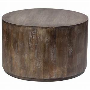 round drum coffee table rascalartsnyc With round wood drum coffee table