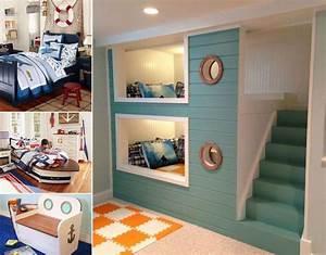 10 cool nautical kids39 bedroom decorating ideas With cool ideas for room decorating