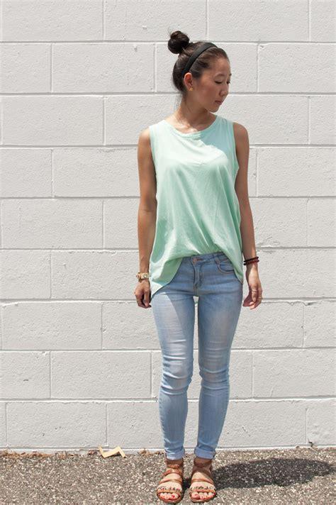 Light skinny jeans outfit u2013 Super Jeans in dieser Saison