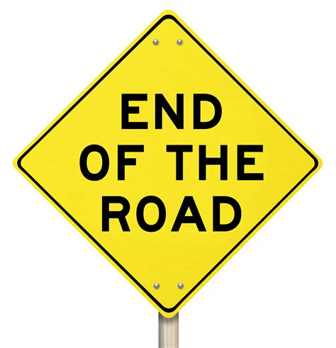 Quotes About End Of The Road (122 Quotes