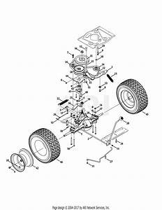 Mtd 13ac26jd058  2015  Parts Diagram For Drive System