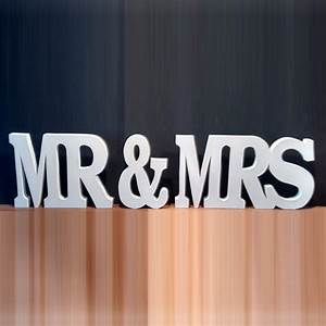 aliexpresscom buy free shipping wedding gift mr mrs With buy giant letters