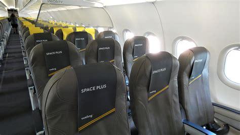 vueling  space  manchester barcelona flight