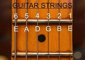 What Are The Names Of The Strings On A Guitar