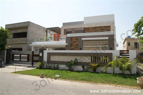 open layout house plans 3d front elevation com 1 kanal house for sale in bahria
