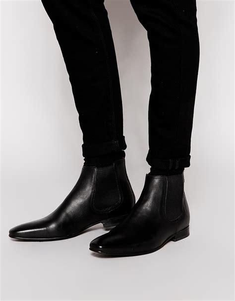 base london thread leather chelsea boots   buy   wear