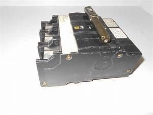 New Square D Qob3110vh Qob 3 Pole 110 Amp 240v Bolt In