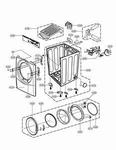 Lg Dlex3550w Dryer Parts