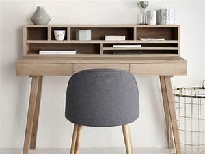 Bureau Bois Pas Cher : petit bureau bois meuble de rangement bureau pas cher ~ Teatrodelosmanantiales.com Idées de Décoration