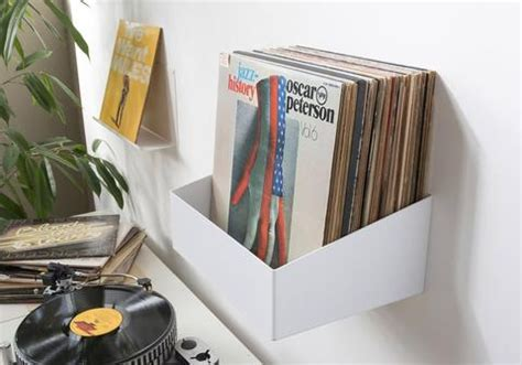 vinyl record storage shelf teenyle a cool wall mounted record shelf record storage