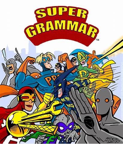 Grammar Super Announcing Moment Definition Take Poster