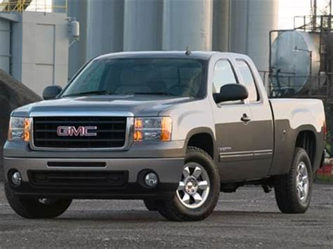gmc sierra  extended cab pricing ratings