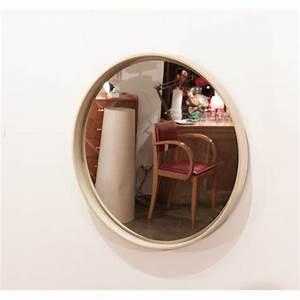 Grand Miroir Vintage : grand miroir rond et vintage ~ Teatrodelosmanantiales.com Idées de Décoration