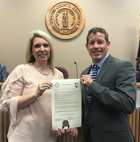 proclamation small business week