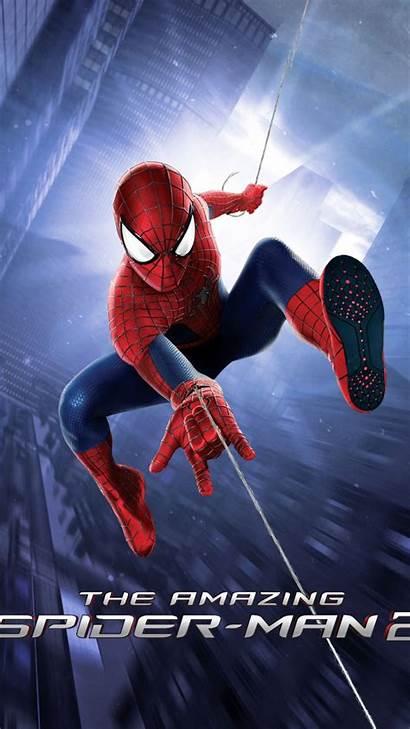 Spiderman Superhero Superheroes Wallpapers Iphone Gambar Amazing