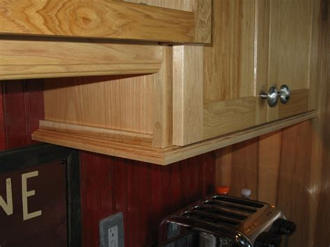 cabinet rail installing molding for cabinet lighting a concord