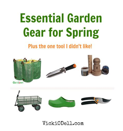 essential tools for gardening essential garden tools for spring vicki odell
