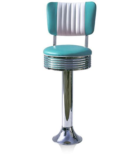 chaise americaine 50s style diner bar stools retro bar stools