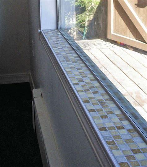 Window Ledge Trim by Glass Tile Window Sill Mosaic Tile Window Sill 1 By