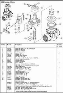 Toro 250  260 Series Control Valves  U0026 Parts  U2014 Sprinkler