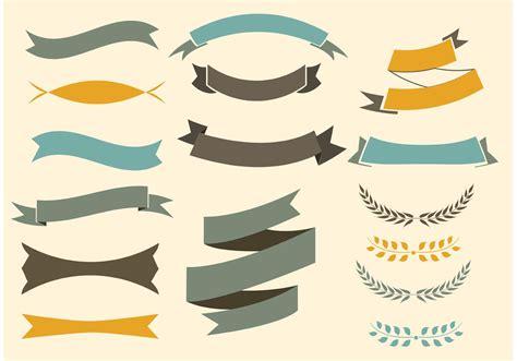 modern ribbon free vector art 33642 free downloads