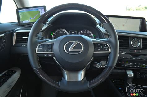 lexus steering wheel 2016 lexus rx pictures on auto123 tv