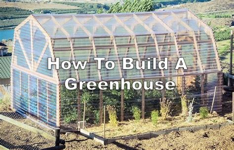 how to build a house how to build a greenhouse grid