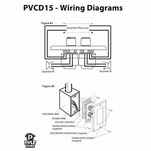 Pylehome Pvcd15 Tools And Meters Wall Plates Wiring Diagram