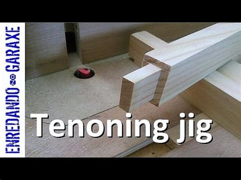 router table tenoning jig youtube
