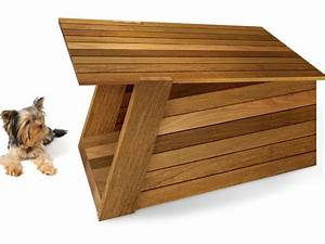 10 high tech modern doghouse designs diy for Cool dog kennel designs