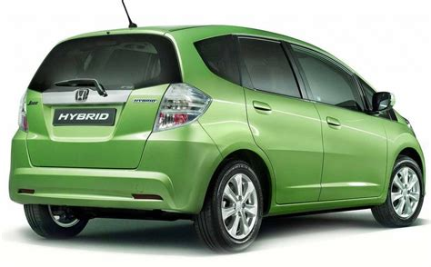 Hybrid Cars :  Honda Hybrid Car Fit 2011