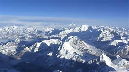 Mountain Snowy Peaks Mountains 4k Background Desktop