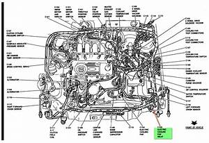 Car Engine Diagram With Labeled Parts