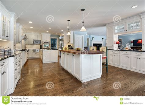 kitchen island with wood top kitchen with wood top island stock image image 15757511