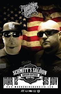 Moonshine Bandits at Schmitt's Saloon, Morgantown
