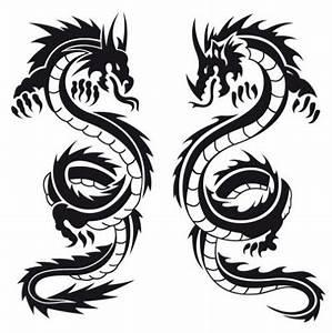 Black And White Dragon Tattoo | Cool Eyecatching tatoos ...