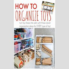 Toy Organization 101 Taming The Toys  Making Lemonade