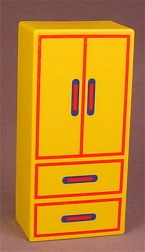 bureau playmobil playmobil 123 yellow closet with drawers doors