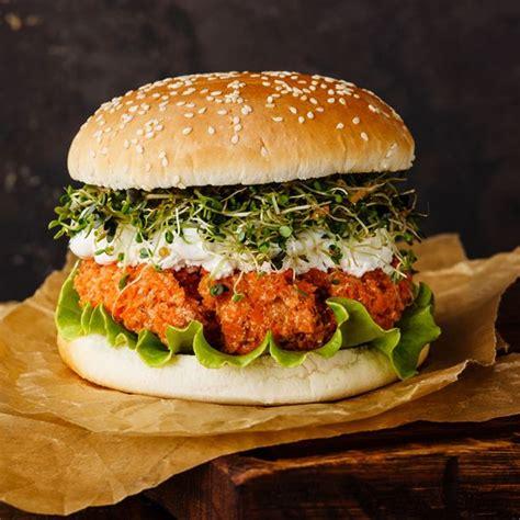 recette cuisine hiver recette burger végétarien au steak de carottes facile
