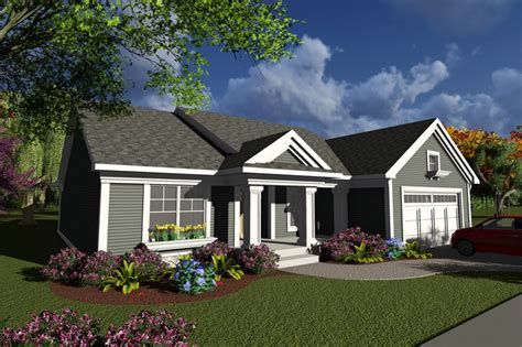 Ranch Style House Plan 2 Beds 2 Baths 1540 Sq/Ft Plan