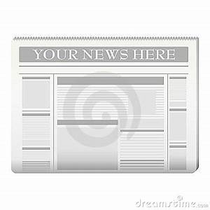 create your own newspaper template - newspaper template stock images image 13161204