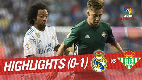 Resumen De Real Madrid Vs Real Betis (01) Youtube