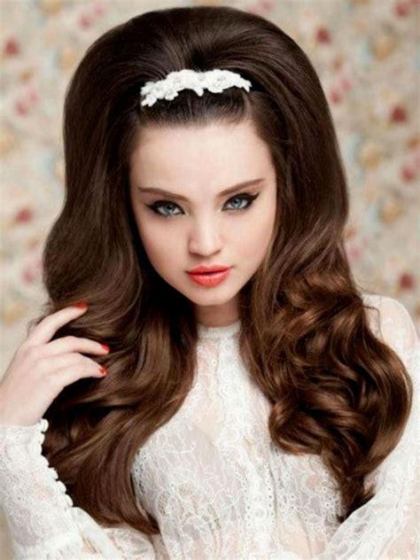 hochzeitsfrisur lange haare frisuren modelle dickere