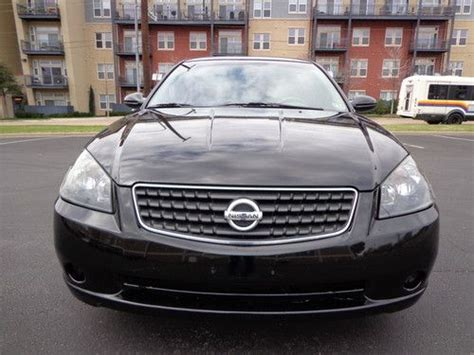 purchase   nissan altima sl   cyl leather sunroof drives great  mechanical issu