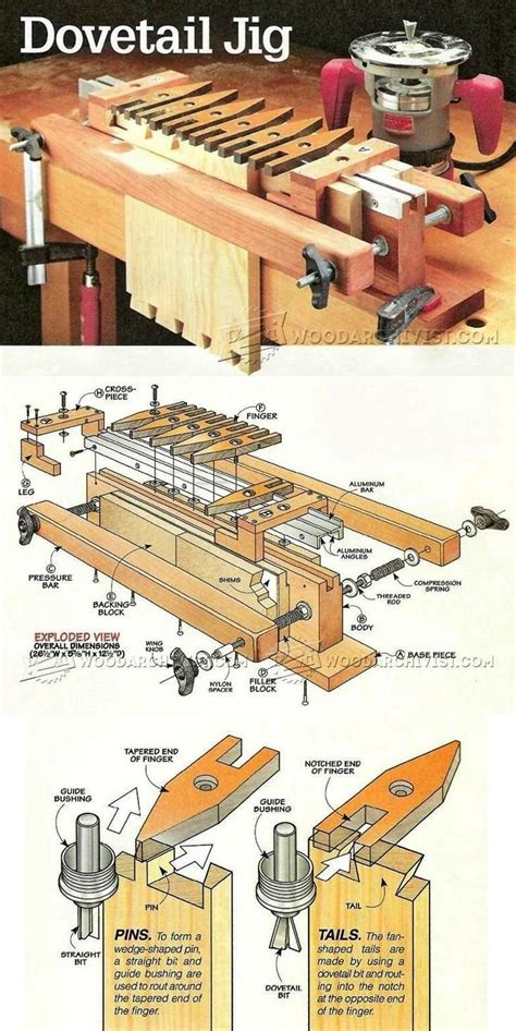 dovetail jig ideas   pinterest table  jigs carpentry  joinery  angle