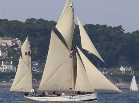 Sailing Boat Yawl by Cer And Nicholson Gaff Yawl Wooden Sailing Yacht For Sale