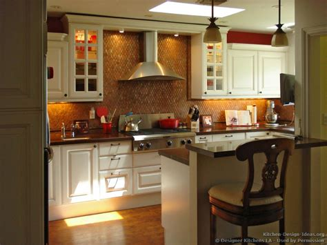kitchen backsplash for white cabinets designer kitchens la pictures of kitchen remodels