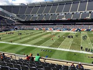 Section 207 At Soldier Field Chicago Bears