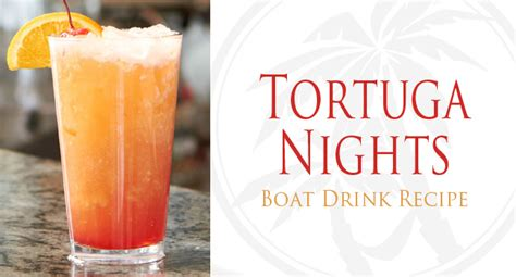Boat Drinks by Tortuga Nights Drink Recipe Boat Drinks